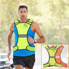 Reflective Safety Vest Strip Night Running Cycling Walking Night Hi VIZ Jogging