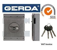 Gerda alta calidad de superficie montada Cerradura de puerta bloqueo de Casa Oficina Tienda 4 keyszxz