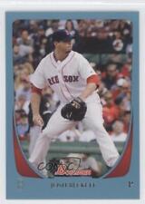 2011 Bowman Blue #92 Josh Beckett Boston Red Sox Baseball Card