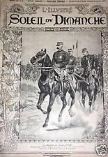LE SOLEIL DU DIMANCHE 1894 N 35  LE GENERAL GALIFFET