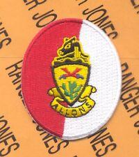 11th ACR Armored Cavalry Regiment BLACKHORSE w/ dui crest beret flash patch
