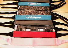 ThermaFreeze~ICE Cooler Neck Wrap Bandana~2 inserts + set of 5 xtra~Choose color