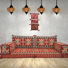 Arabic majlis sofa,floor cushions,kilim pillow covers,wall decor / SHI_FS13