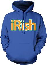 iRish Ireland Phone Pod Pad Country Heritage From IRE IE Born Hoodie Sweatshirt