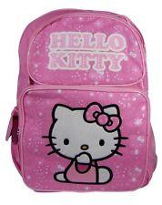 New Sanrio HELLO KITTY Pink Bag School Work Book Large Backpack cute KID gift