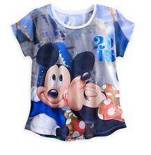 Disney Parks Authentic Minnie Mickey Mouse Disney World Womens T Shirt sz XS M