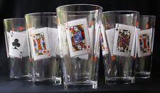 6 D'ARQUES DURAND LUMINARC CARD PARTY TUMBLERS 16oz.