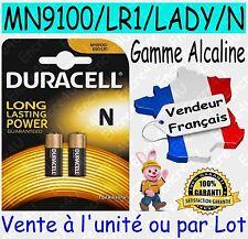 Piles DURACELL TYPE LADY N LR1 - Dispo aussi CR2016 CR2025 CR2032 CR2430 CR2450