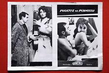 SHOOT THE PIANIST TRUFFAUT 59' EXYU MOVIE PROGRAM