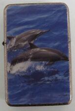 Dolphin Design Star Lighter In Gift Tin