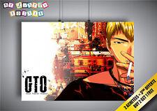 Plakat gto Great Teacher onizuka anime manga Wand Kunst