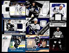 TAMPA BAY LIGHTNING AUTOGRAPH JERSEY NHL HOCKEY CARD SEE LIST