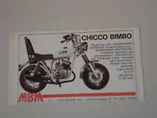 advertising Pubblicità 1976 MBM CHICCO BIMBO