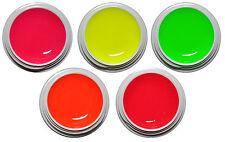 Neon Farbgel Color UV Gel Pink Orange Gelb Rot Grün Nagelgel #00530