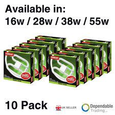 10 x Eveready 2-Pin 4-Pin 16W 28W 38W 55W 2D Lamp - Colour 835/864 (3500K/6400K)