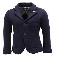 0827T giacca bimbo ASTON MARTIN jersey stretch blu jacket kid