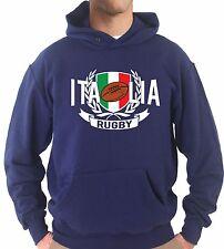 Felpa Cappuccio KJ1663 Italia Rugby Sei Nazioni Maglia Nazionale Terzo Tempo
