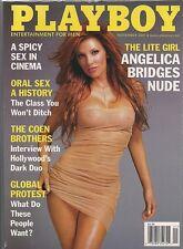 PLAYBOY MAGAZINE NOVEMBER 2001 ANGELICA BRIDGES