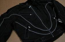 Z1 Zip Racing Black Road Bike Jacket