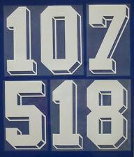 Flock Nummer number número home Trikot jersey shirt Frankreich France 1986
