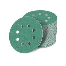 125 mm Schleifscheiben 60-2000 Exzenter Schleifpapier Klett haft grün (20 STÜCK)