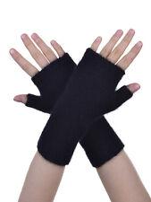 New Zealand Possum Fur Merino Wool Knitwear Short Plain Glovelet