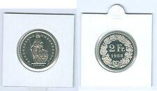 Suisse 2 Francs pièce de monnaie de KMS (Choisissez entre: 1974 - 2017)