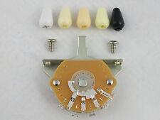 Oak GRIGSBY Stile 3 Way selector switch per USA / MEX STRATOCASTER + 5 COLS della punta