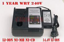 Battery Charger for Panasonic 14.4V EY9L40,EY9L40B,EY9L41, Li-ion 7.2V-24V Ni-MH