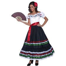 Faschingskostüm Spanierin Kostüm Senorita Zigeunerin Westernkostüm Flamencokleid