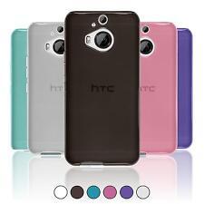 Coque en Silicone HTC One M9 Plus - transparent  + films de protection
