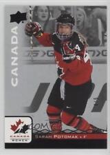 2017 Upper Deck Team Canada Juniors Black #21 Sarah Potomak (National Team) Card