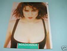 Madonna - Rare 1980s Pinup Magazine Poster