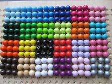 Holzperlen, 30Stk.10 mm,oder 15Stk.12 mm, speichelfest, verschiedene Farben