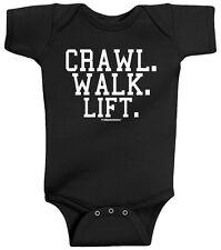 Threadrock Baby Crawl Walk Lift Infant Bodysuit Weight Lifting Cute Funny