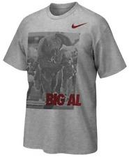 Nike Tri Blend Alabama Crimson Tide Big Al Mascot Photo shirt football team men