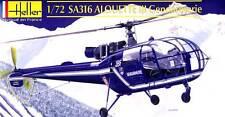 Heller - SA316 SA-316 Alouette III Gendarmerie modèle-kit 1:72 Astuce
