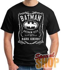 "T-Shirt Batman-Gotham City-Dark Night "" T-Shirt-Guy/Sleeveless/Girl / Strap"