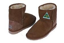 Classic Short/Mini Ugg Boots Premium Australian Sheepskin 3 Colors Sizes 4-14