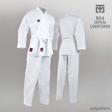 MOOTO BS4 White Color Open Dobok Basic Season4 Uniform Taekwondo TKD