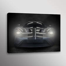 2016 Ford GT Supercar GT40 Sportscar Car Photo Automotive Wall Art Canvas Print