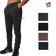Pantalone Uomo Slim Elastico Jeans 42 44 46 48 50 52 54 Maglia Maglietta Giacca