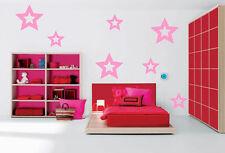 STAR Shape 36 Pieces arrange yourself Vinyl Wall / Car Decal Sticker