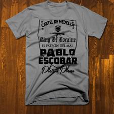 Pablo Escobar T-Shirt Medellin Cartel Sicario Plata O Plomo Narco Colombia tee