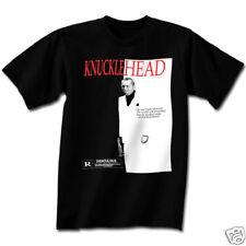Three Stooges Knucklehead Scarface Adult T-Shirt