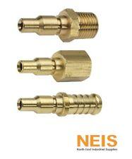 """Jamec Pem 310 and 320 Series Adaptor Male Female Hose Tail 1/8-1/2"""" BSP Adaptors"""