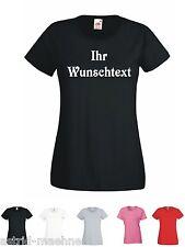 T-Shirt - GIRLIESHIRT - Ihr Wunschtext - sexy  Damen  Shirt - Fun Sprüche - Club