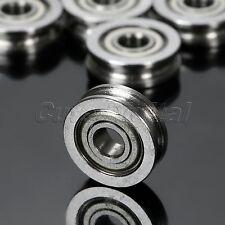 U604ZZ U Groove 3D Printer Ball Bearing Wheel Roller Sealed Rail Guide Pulley