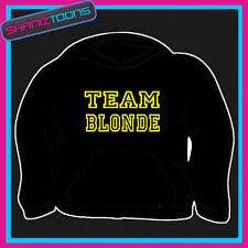 L'équipe des cheveux blonds Drôle Adultes Sweat à capuche toutes les tailles et couleurs