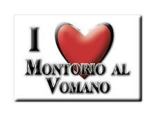 CALAMITA ABRUZZO FRIDGE MAGNET MAGNETE SOUVENIR LOVE MONTORIO AL VOMANO (TE)